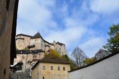 eslovaquia Castillo de Orava Fotografía de archivo