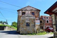 Esloveno Istra de Koper - caminando y biking fotografía de archivo