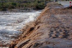 Esmaecimento da estrada Fotografia de Stock Royalty Free