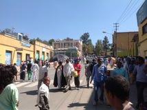 Esmagamento de Gondar Foto de Stock