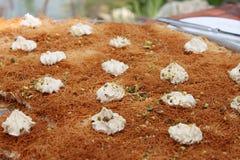 Esmalliyeh Dessert Tray royalty free stock photos