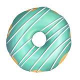 Esmalte del verde del buñuelo fotografía de archivo libre de regalías