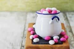 Esmalte dos doces imagens de stock