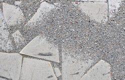 Esmalte quebrado Dalle Fotografía de archivo libre de regalías
