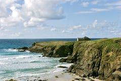 Esmelle. Hermitage Catholic in the coast of Galicia Stock Image