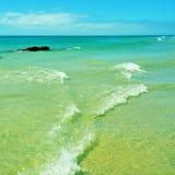 Esmeralda Beach à Fuerteventura, Îles Canaries, Espagne Image libre de droits