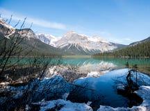 Esmeralda del lago Imágenes de archivo libres de regalías