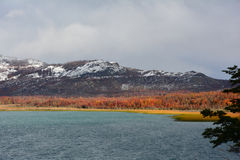 Esmeralda Lake, Chileens Patagonië Royalty-vrije Stock Foto