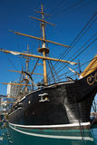 Esmeralda. Replica of the Chilean Navy ship Esmeralda that was sunk at the Battle of Iquique in 1879 during the War of the Pacific between Chile and the combined royalty free stock photography