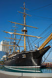 Esmeralda. Replica of the Chilean Navy ship Esmeralda that was sunk at the Battle of Iquique in 1879 during the War of the Pacific between Chile and the combined royalty free stock photo