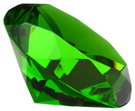 Esmeralda verde Fotografia de Stock