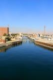 Esna ship locks in Egypt Royalty Free Stock Photo
