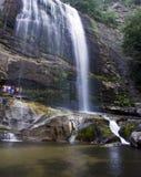 Esos tres de la cascada Foto de archivo libre de regalías