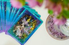 Esoteric cards, detail card. Interpretation of cards, sense of cards, future. Esoteric cards, detail. Interpretation of cards, sense of cards, interpretation of stock photos