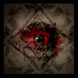 Esoteric illustration of eye Stock Photos