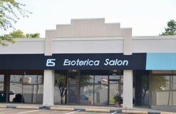 Esoterica salon, Fort Worth, Teksas obrazy royalty free