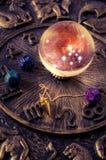 esoteriska hjälpmedel Arkivbild