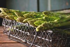 Espárrago verde Fotografía de archivo libre de regalías