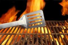 Espátula caliente de la parrilla de la llama del fuego de la barbacoa, XXXL Fotos de archivo libres de regalías