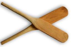 Espátula de madeira Fotos de Stock Royalty Free