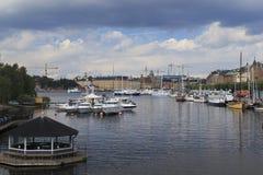 Espèce marine à Stockholm Photographie stock