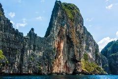 Espèces d'île rocheuse Images libres de droits
