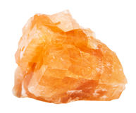 Espécime da rocha do chabazite isolado imagem de stock royalty free