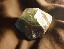 Espécimen del fluorito Fotos de archivo