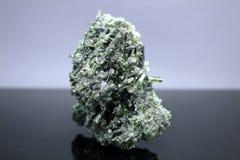 Espécimen del mineral de Dioside Fotos de archivo