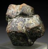 Espécimen muy hermoso del cristal del granate del Almandine Imagen de archivo libre de regalías