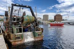 Espírito da balsa de Hobart, baía de Salamanca foto de stock royalty free