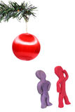 Espírito da busca do Natal Imagem de Stock Royalty Free