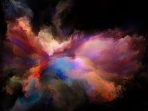 Espírito do movimento da cor ilustração stock