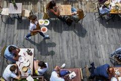 Espírito do terraço no verão Imagem de Stock Royalty Free