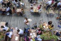 Espírito do terraço no verão Fotos de Stock