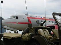 Espírito histórico de Berlin Airlift Douglas C-54 Skymaster da liberdade Imagem de Stock