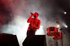 ¡Espíritu santo! demostración de la música en directo (de la banda) en el festival de Bime Imágenes de archivo libres de regalías