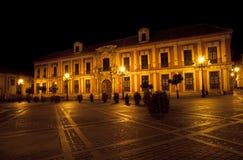 ESPAÃA Plaza Virgen de Los Reyes, Σεβίλλη Στοκ εικόνες με δικαίωμα ελεύθερης χρήσης