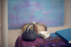Espaço/área da meditação Foto de Stock