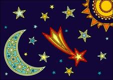 Espaço ilustração royalty free