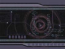 Espaço ilustração do vetor