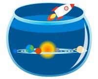 espaço ilustração stock