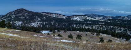 Espaço aberto do parque branco do rancho imagem de stock