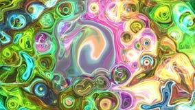 Espaço abstrato colorido do fundo, universo Imagem de Stock Royalty Free