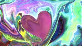 Espaço abstrato colorido do fundo, universo ilustração stock