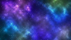 Espaço abstrato Fundo colorido do espaço Nebulosa bonita Protagonizar no papel de parede do espaço fotografia de stock