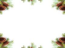 Espaço branco quadro da cópia Foto de Stock