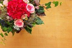 Espaço da cópia do fundo do ramalhete da flor Foto de Stock