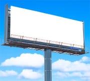 Espaço de anúncio foto de stock