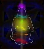Espaço de Chakra Imagem de Stock